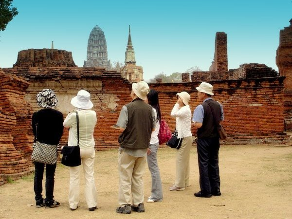 Chinese Tourists in Chiang Mai