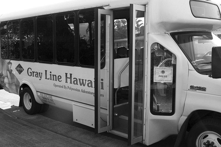 obama press pool bus